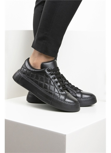OKHU SHOES Kadın Sneaker Ayakkabı Siyah